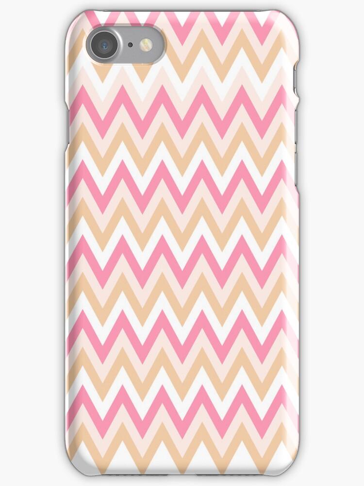 Sweet Pink Chevron Design by sweettoothliz