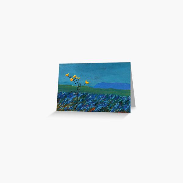 Flower, Mountain Greeting Card