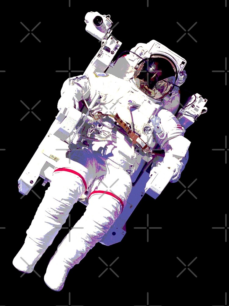 Floating Astronaut by monsterplanet