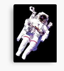 Schwimmender Astronaut Leinwanddruck