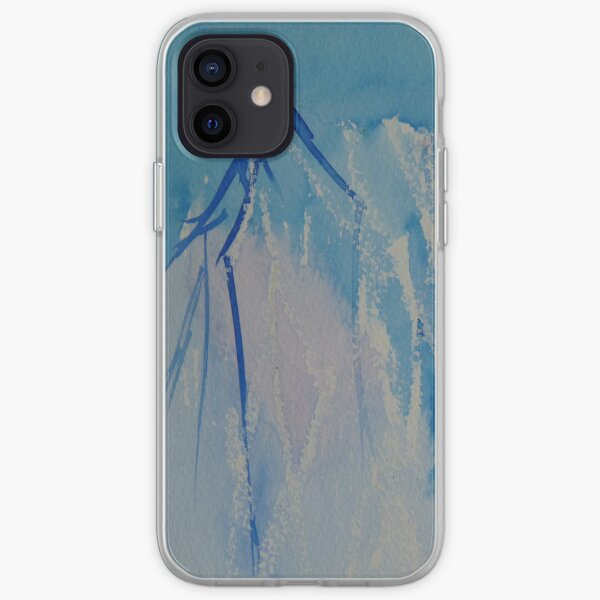 Blue branches iPhone case iPhone Soft Case