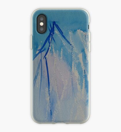 Blue branches iPhone case iPhone Case