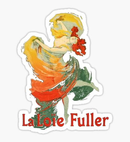 Jules Cheret - La Loie Fuller Sticker