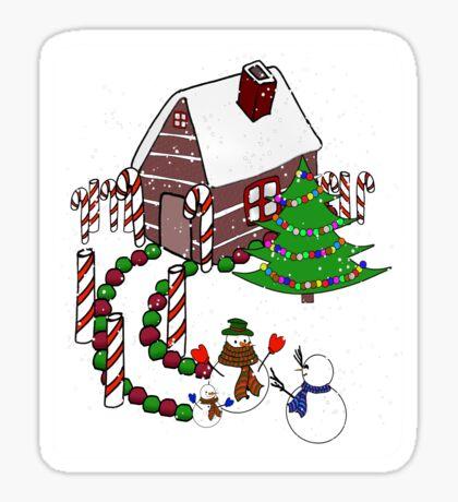 Homecoming Snowman Sticker