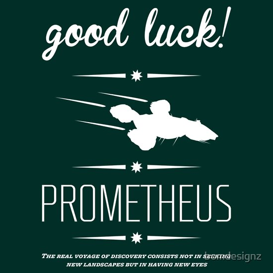TShirtGifter presents: Vintage look for prometheus