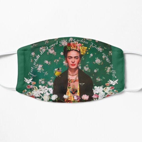 Alas para volar Frida Kahlo Mascarilla plana