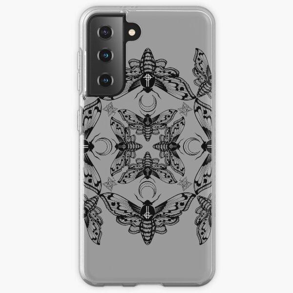 Kaléidoscope de papillon de nuit fantôme Coque souple Samsung Galaxy