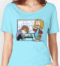 Pied Piper's Peanuts Women's Relaxed Fit T-Shirt
