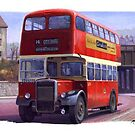 Plymouth Corporation Leyland by Mike Jeffries