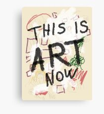 This is ART! Canvas Print