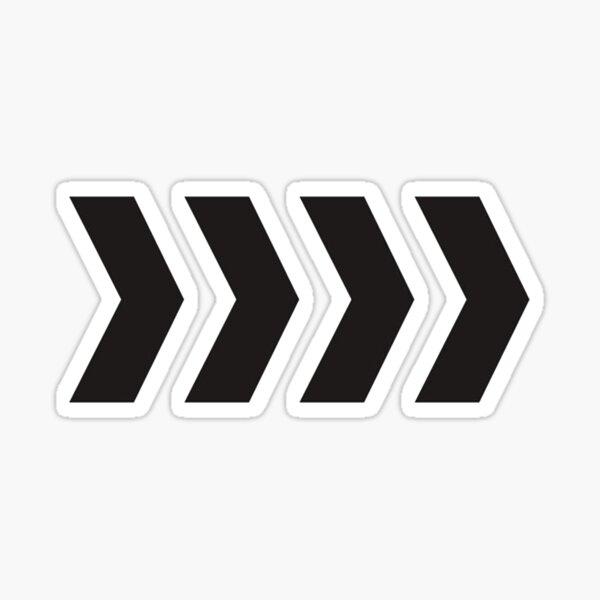 LIAM PAYNE TATTOO - CHEVRON  Sticker