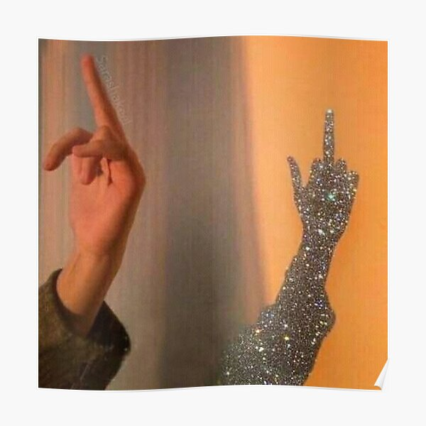 Sparkle Aesthetic Glam Posters Redbubble 'don't be shy put some more' glossy sticker by twinitiee. redbubble