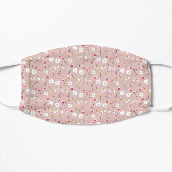 Spring Flowers in Rose Mask