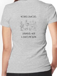 Morris Dancers - Drinkers With A Dance Problem Women's Fitted V-Neck T-Shirt
