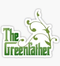 The Greenfather: Environmental Parody Sticker