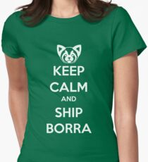 Keep Calm and Ship Borra! T-Shirt