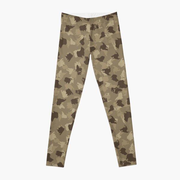 Camouflage Pattern 12 Leggings