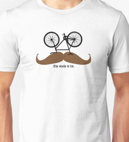 Hipster Bike Mustache  Unisex T-Shirt