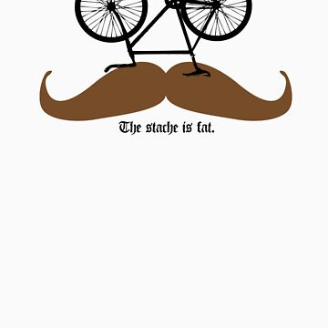 Hipster Bike Mustache  by MFBike