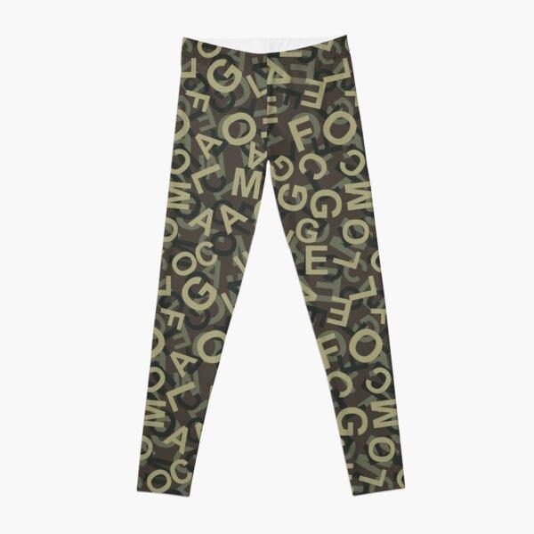 Camouflage Pattern 13 Leggings