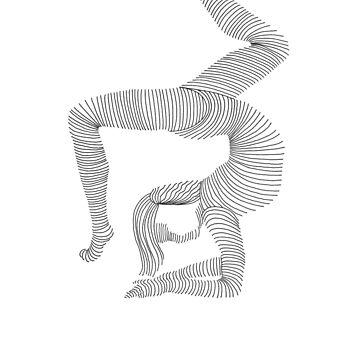 acrobat like you. by hwiddy