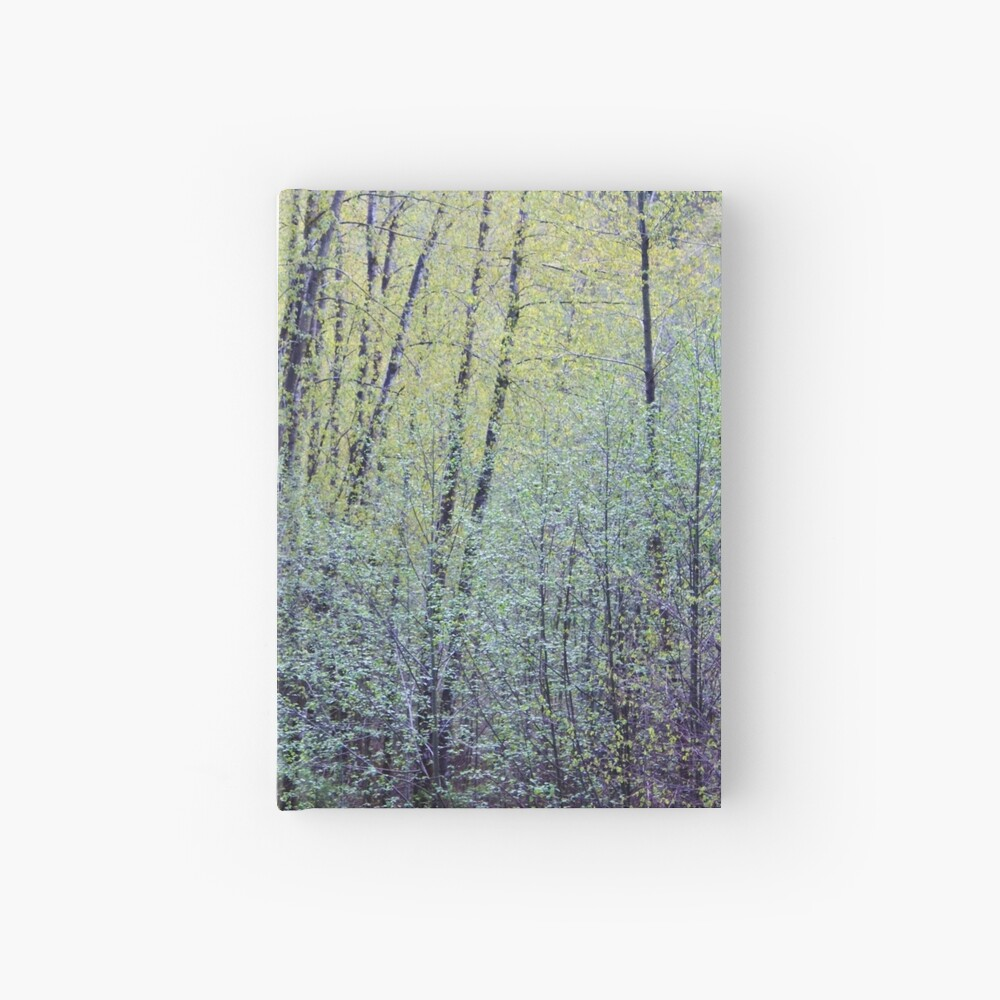 Spring Forest Trees2 Hardcover Journal