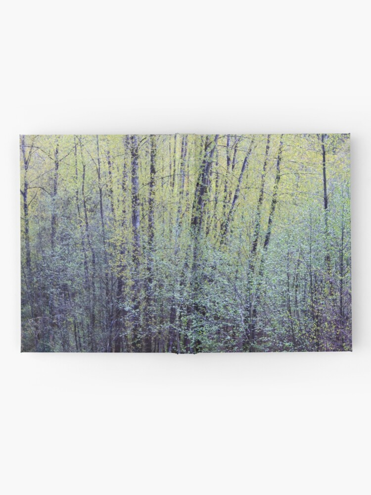 Alternate view of Spring Forest Trees2 Hardcover Journal