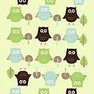 Owls by sweettoothliz