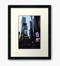 New York Times Square Framed Print