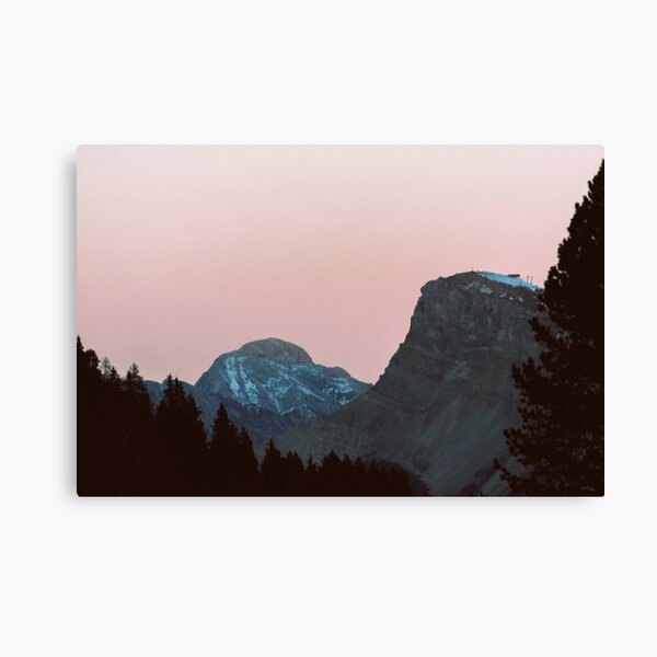 Twilight Mountain | Nature and Landscape Photography Canvas Print