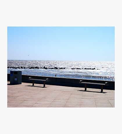 Sit And Watch The Waves? Photographic Print