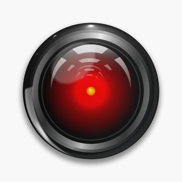 Hal 9000 (updated) Pin