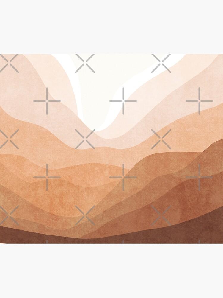 Warm mountain landscape by Miss-Belle