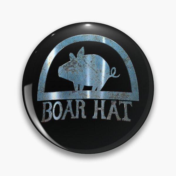 Boar Hat 3D Pin
