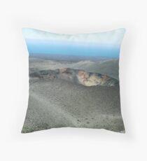 Volcano - Lanzarote Throw Pillow