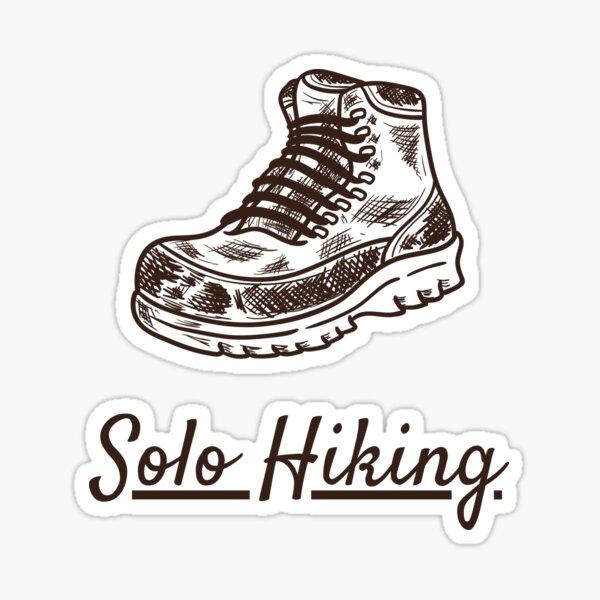 Solo Hiking (Boot) Sticker