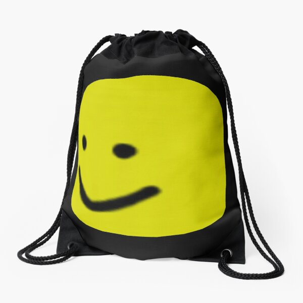 Roblox Noob Big Head Gift For Gamers Drawstring Bag