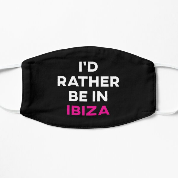 Ich wäre lieber auf Ibiza Maske