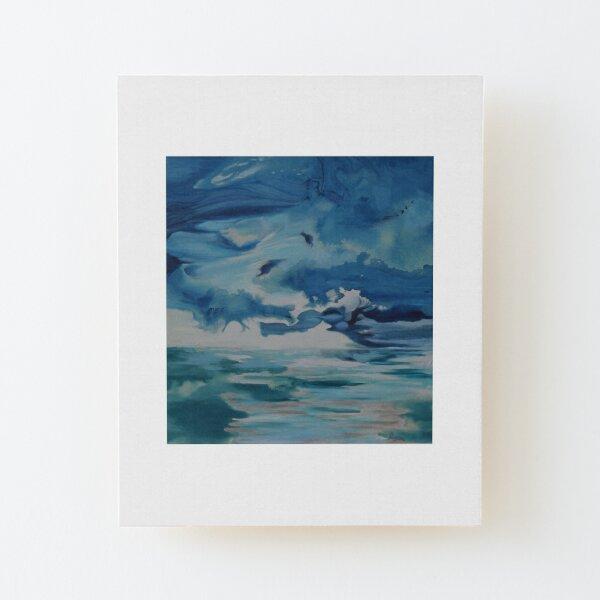 Ocean Clouds Wood Mounted Print