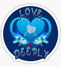 Love Deeply  Sticker