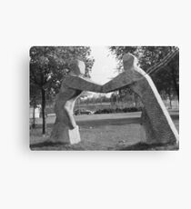 Germany: Berlin.1967 East Dean, Sussex, Vienna 1969 Canvas Print
