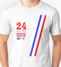 Hesketh Racing James Hunt 24 formula 1 Unisex T-Shirt
