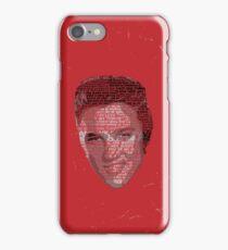 Typographic Icons - Elvis Presley iPhone Case/Skin