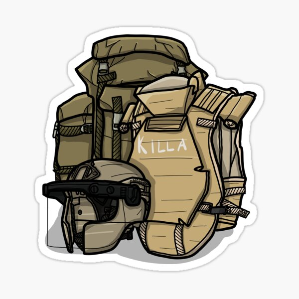 Escape from Tarkov - Chad Gear Sticker