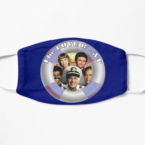 The Love Boat lifesaver retro graphic Flat Mask