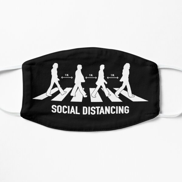 Abbey Road Social Distancing Mask