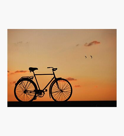 The Bike Photographic Print