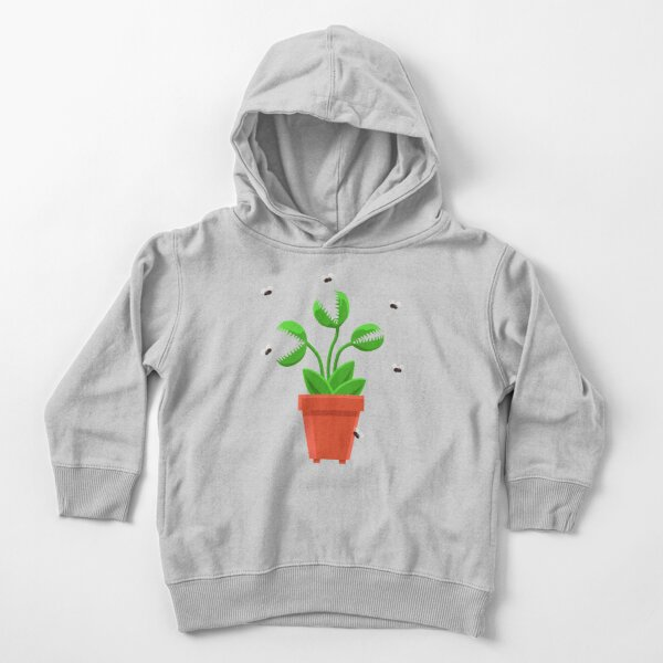 blue venus fly trap Toddler Pullover Hoodie