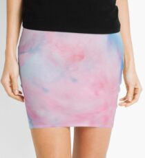 Cotton, Cotton Candy  Mini Skirt