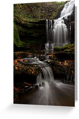 Scalber Force, Yorkshire Dales by Jim Round